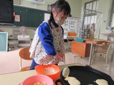 ホットケーキ作り4