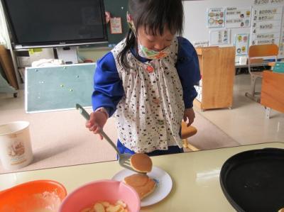 ホットケーキ作り5